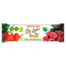 Tyčinka ovocná  Dr.Light fruit Immuno-Bar PRE + PROBIOTIKA 30g