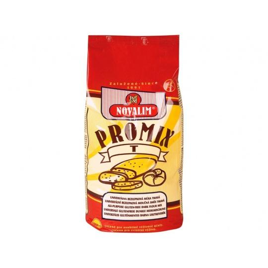 Promix-t bezlepková mouka univerzální tmavá 1kg