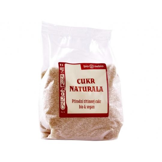 Bio Naturala přírodní třtinový cukr 400g