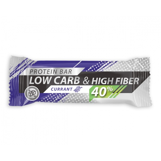Low Carb   High Protein 40% Živan - Black Currant 35g min.trv.15.10.2021