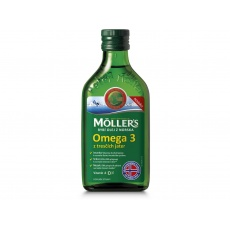 Möller's Omega 3 rybí olej natur 250 ml