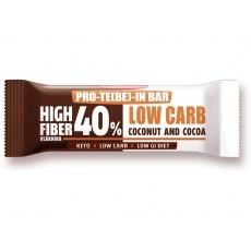 Low Carb | High Fiber Slimka tyčinka - kakao 35g