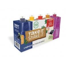 Take it shake it PŠTROS 5x20ml mix ovocný nápoj