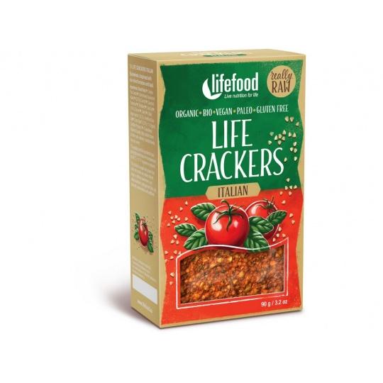 Bio Life crackers Italské RAW 90 g