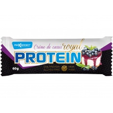 AKCE - Tyčinka proteinová Royal protein delight Créme de cassis 60g. Min. trv. 17.9.2021