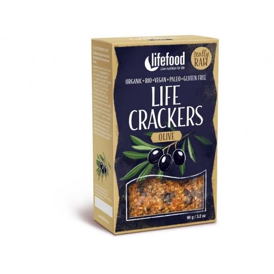 Bio Life crackers olivové 90g
