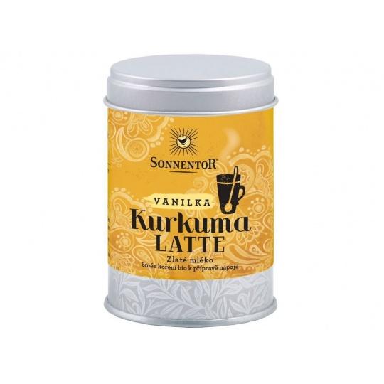 Bio Kurkuma Latte-vanilka 60g dózička (Pikantní kořeněná směs)