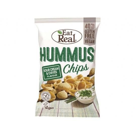 Hummus chipsy – s krémovým koprem 45g