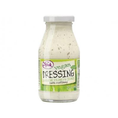 Dressing Vegan Zahradní bylinky & česnek 200 ml