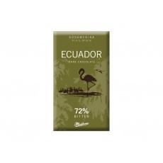 Čokoláda hořká Ecuador 72% 40g