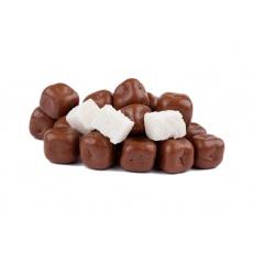 Kokosové kostky v mléčné čokoládě 200g