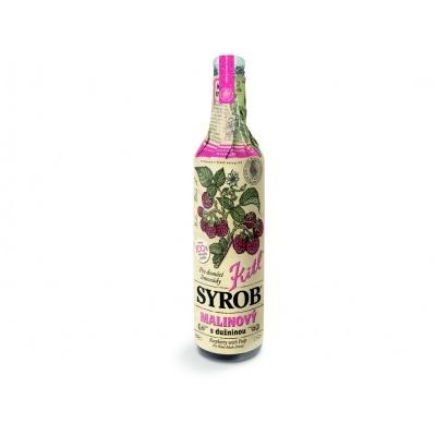 Kitl Syrob Malinový s dužinou 500ml - sirup pro přípravu domácích limonád