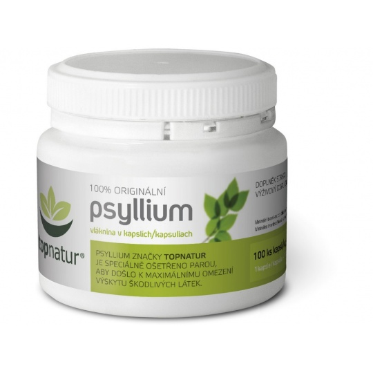Psyllium  kapsle 100 ks