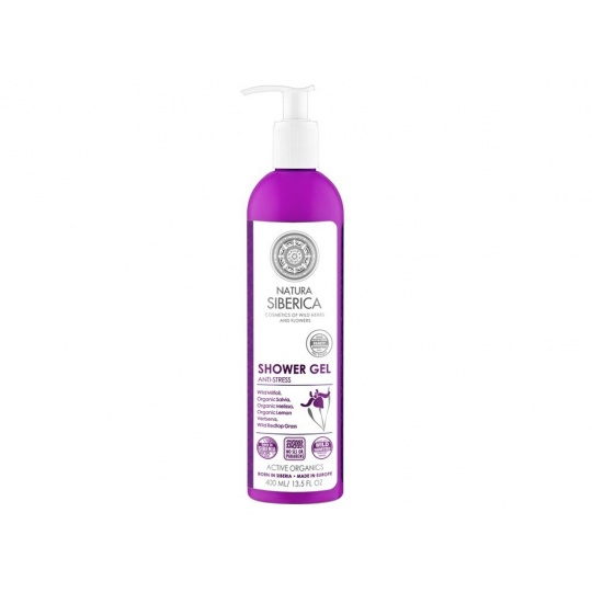 """Sprchový gel pro pružnou pleť """"Antistresový"""" 400 ml"""