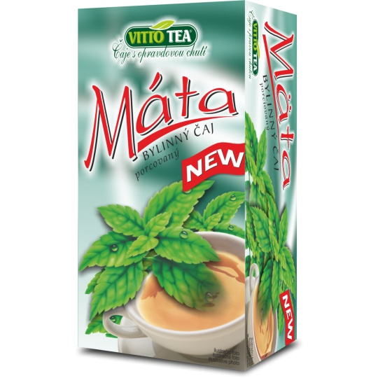 VITTO čaj Máta porcovaný 30 g