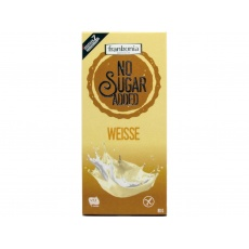 Bílá čokoláda bez přidaného cukru 80g