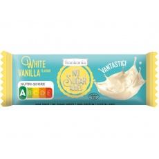 AKCE - Tyčinka Čokoládová bílá - Vanilka bez přidaného cukru 50g. Min. trv. 13.8.2021
