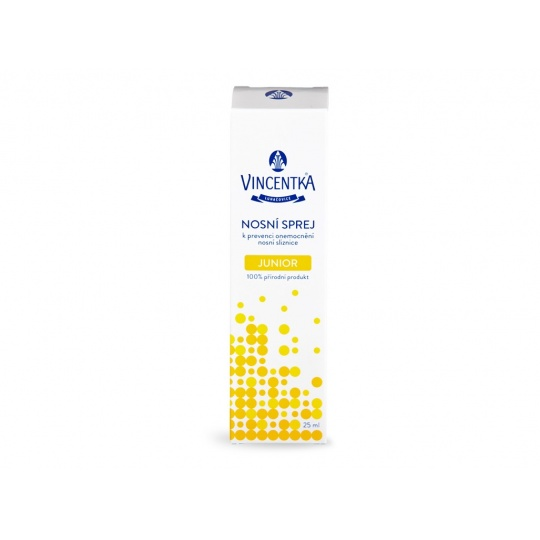 Vincentka - Nosní sprej JUNIOR 0+ 25 ml